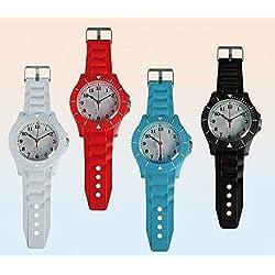 Plastic Oversized Hanging Wall Clock Wrist Watch Style 60CM Strap Quartz Large
