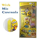 Best Kid Earphones - Nyubi Minions Earphones with Mic Review