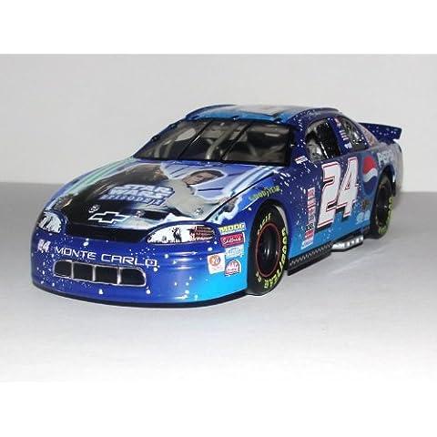 Action - Nascar - Jeff Gordon #24 - Pepsi Racing / Star Wars Episode I - 1999 Chevrolet Monte Carlo - 1:24 Scale Stock Car - by NASCAR - Racing Chevrolet