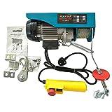 KATSU® 181310 Electric Hoist 9M 18M 125-250KGS 550W 220V Lifting Lowering Winch UK