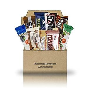 Proteinriegel Sample Box – 10 Protein Riegel diverser Hersteller