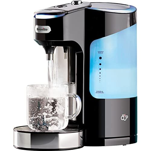 51owlKbrZhL. SS500  - Breville HotCup Hot Water Dispenser with 3 KW Fast Boil and Variable Dispense, 2.0 Litre, Gloss Black [VKJ318]