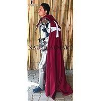 Tissu non-tissé Templar Knight Conséquence du Armour L/tunique Wearable Halloween