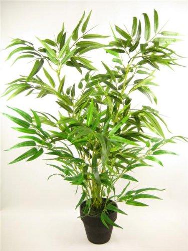 80 cm en pot artificielle en soie Bambou office Plante