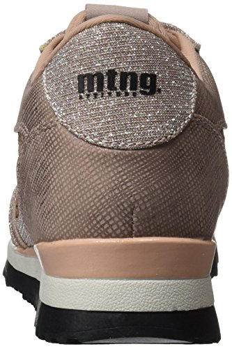 MTNG Damen Anne Sneaker Beige (Lure Nude / Glitter Nude)