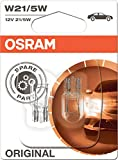 Osram 7515-02B Original Line Halogenlampen 12 V W21/5 W, Set Of 2