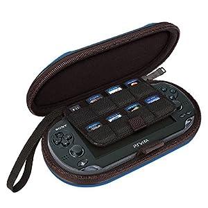 Bigben Tasche PSV-122 Hard-Case und Spiele-Hülle für Sony PS Vita PSV Slim Konsole PSVITA