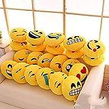 Yatinfab CGB Emoji Pillows Cushion Plush Smiley