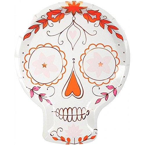 Partyteller Halloween Sugar Skull Dia de ()