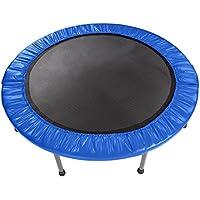 Ncient Fitness Trampolin Faltbar Indoor/Outdoor Gartentrampolin Jumper, belastbar bis 100 kg