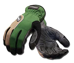 Ansell projex landscaper 97 972 gloves mens gardening for Gardening gloves amazon