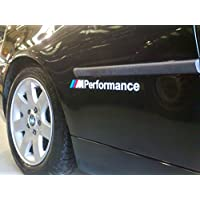 BMW M Performance Stickers - Vinyl adhesive graphic car decals (pair) (SS20004)