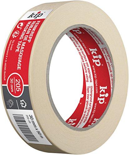 Preisvergleich Produktbild Kip Malerkrepp 205-29 Klebeband zum lackieren und abdecken 30mm x 50m