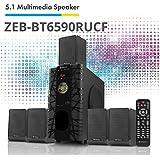 Zebronics BT6590RUCF 5.1 Channel Multimedia Speakers