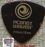 Planet Waves Médiators Planet Waves rouge coque, pack de 25, Extra Heavy, format large