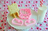 Evana Hello Kitty Sitting 3D Cookie Cutt...