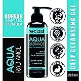 Recast Aqua Radiance Deep Cleansing Gel - Korean Beauty Style Product - Gently