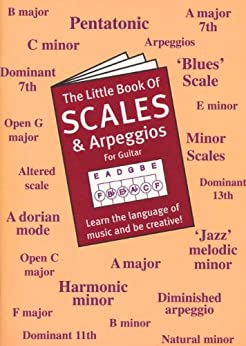 The Little Book Of Scales And Arpeggios For Guitar par [Anon]