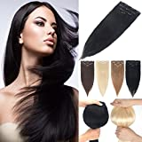 Best Full Hair Remy Hair Extensions - Remy Human Hair Extensions Clip in 4PCS/SET Real Review