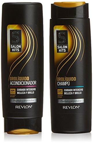 Salon Hits Oro liquido Condizionatore + Shampoo - 1 Pack