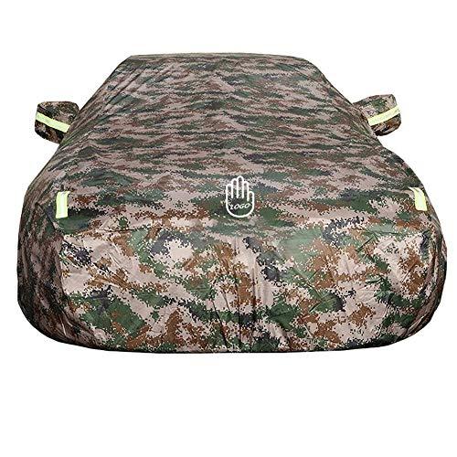 MUCC Autoabdeckung wasserdicht, passend für Ford Flex Anti-UV Plus Baumwollverdickung (Color : Camouflage)