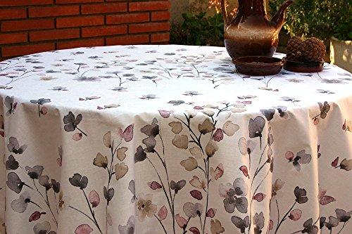 Mantel Antimanchas Flores JANA (250x140)