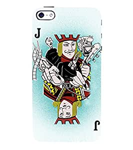 Joker Playing Cards 3D Hard Polycarbonate Designer Back Case Cover for Apple iPhone 4S