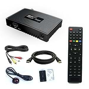 Next Minix HD Tango - Mini démodulateur satellite Full HD FTA idéal pour Türksat Hotbird etc. PVR IPTV WiFi