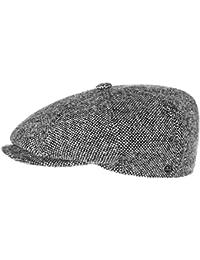 Lierys Tweed Schildmütze für Damen und Herren Wollkappe Wollmütze Wintercap mit Schirm, mit Futter, mit Schirm, mit Futter Herbst Winter