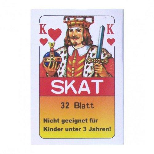 Skatblatt Skat Kartenspiel 32 Karten
