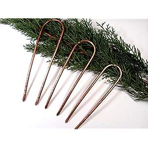 3 Haarforke, aus Kupfer Metall,Handgefertigt, Haarforke,Haarschmuck,Haar Accessoires! Geschenkidee!!!