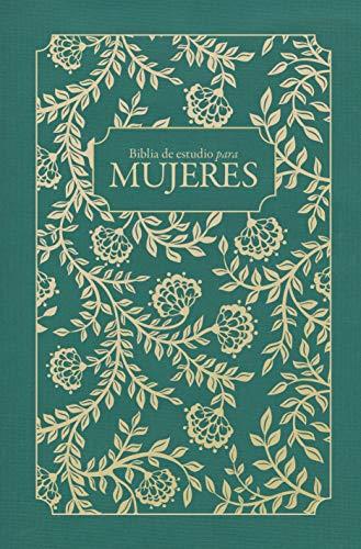Rvr 1960 Biblia de Estudio Para Mujeres, Tela Verde (1960 Biblia Rvr)