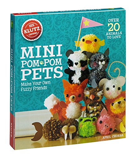 Mini Pom-Pom Pets (Klutz) por April Chorba
