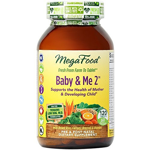 MegaFood - Baby & Me 2, Key Nutrients Vital to Prenatal Support of Bot