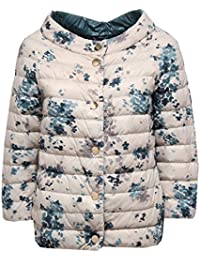 Herno 0512W Piumino Donna Double Face Beige Blue Ultra Light Jacket Woman 0dea4e7934b