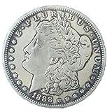 AmaMary Morgan Dollar Münze, 1 Stk Silber USA Vereinigte Morgan Dollar $ 1 1888 Münzen Sammlung Antik Dollar heiß