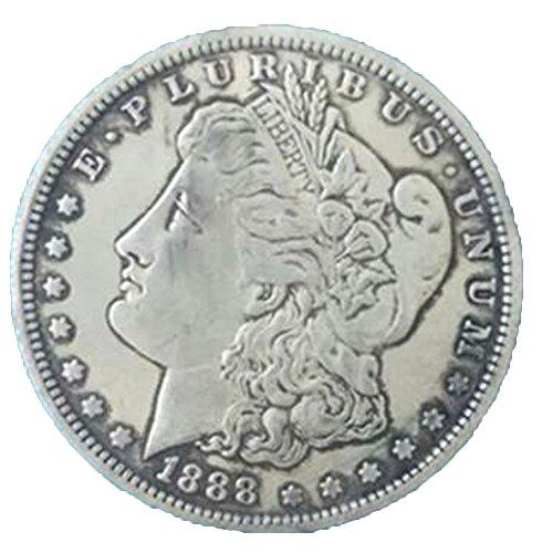 AmaMary Morgan Dollar Münze, 1 Stk Silber USA Vereinigte Morgan Dollar $ 1 1888 Münzen Sammlung Antik Dollar heiß -