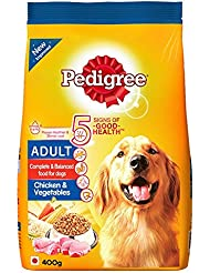 Pedigree Adult Chicken and Vegetable, 400 g