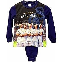 Pijama Niño Jugadores REAL MADRID Micropolar