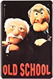 Plaque de Muppet Show Old School 20x 30cm publicité retro Tôle 193