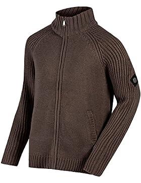 Regatta Mens Kaeden Acrylic Knitted Full Zip Casual Walking Jumper