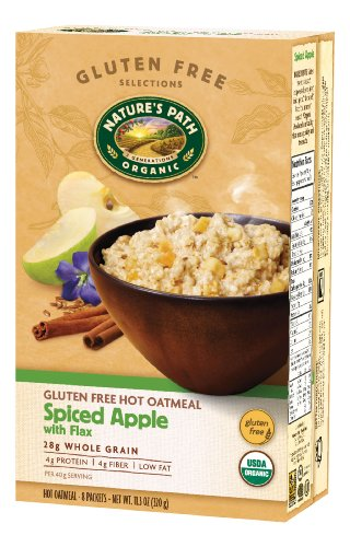 natures-path-gluten-free-hot-oatmeal-spiced-apple-with-flax-113-ounce-pack-of-6-by-natures-path