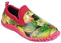 Cotswold Ladies Backdoor Shoe Ladies Leaf Rubber Gardening Shoe 6