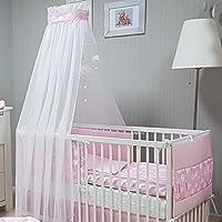 Suchergebnis Auf Amazon De Fur Babybett Himmel Set Rosa Baby