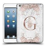 Head Case Designs Offizielle Nature Magick G Rosa Gold Marmor Monogramm Soft Gel Hülle für iPad Mini 1 / Mini 2 / Mini 3