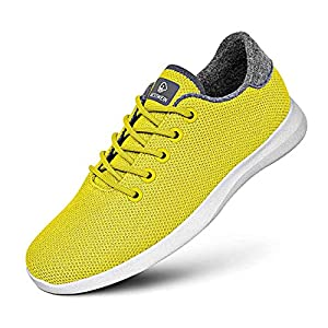 Giesswein Merino Wool Knit Men - Atmungsaktive Sneaker für Herren aus 100% Merino Wolle, Sportliche Barfußschuhe, Freizeitschuh, Herrenschuhe, Schuhe
