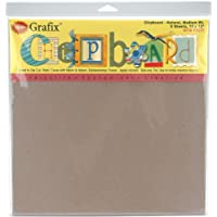 "Grafix Peso medio aglomerado feuilles-12x 12"" natural 6/Pkg"