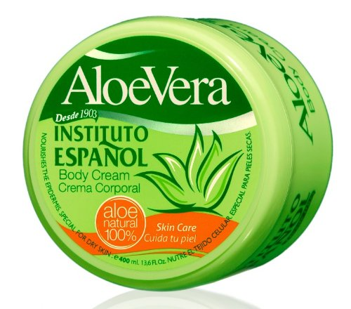 Instituto Español - Tarro Crema Aloe-Vera 400 ml