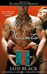 All She Wants: Ellora's Cave by Jaid Black (2006-11-07)