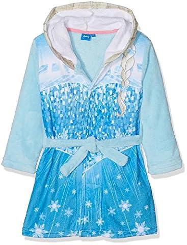 Disney Frozen Frozen Clothes, Robe de Chambre Fille, Bleu, 5-6 Ans
